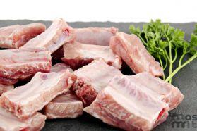 Costillas de cerdo troceadas Masmit