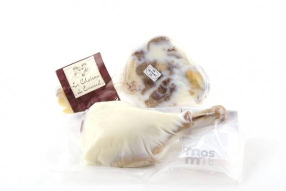 Confit de pato o muslo de pato en confit Masmit