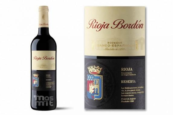 Rioja Bordón Reserva Tinto D.O. ca
