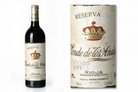 Conde de los Andes Reserva Rioja - Bodegas Paternina