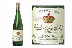 Conde de los Andes Reserva Blanco Rioja