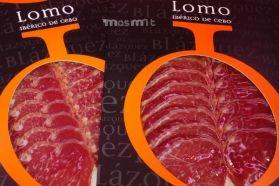 Lomo Ibérico de Cebo en Lonchas sobres 100 grs