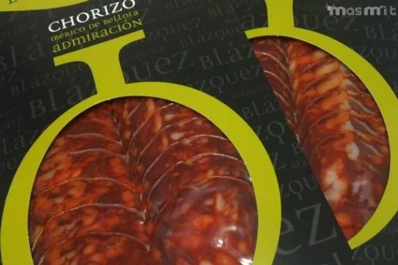 Chorizo Ibérico de Bellota Loncheado 100 Grs