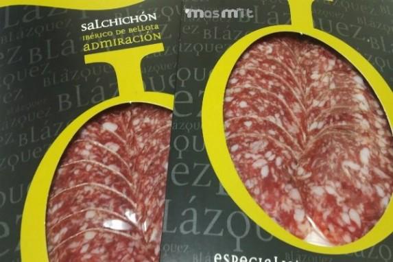 Salchichón Ibérico de Bellota loncheado sobres 100 Grs.