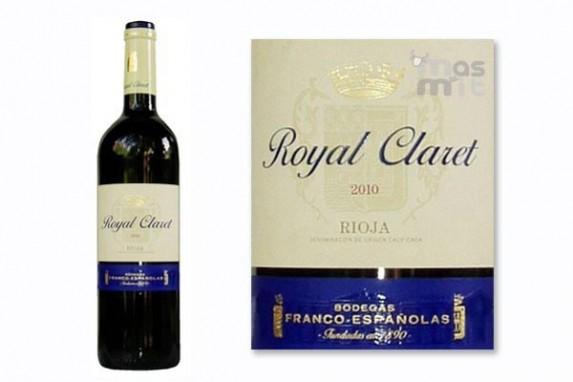 Vino Royal Claret Rioja Tinto Bodegas Franco Españolas - Masmit