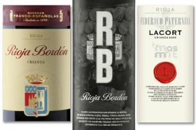 3 Estilos para 3 Crianzas de Rioja - Bordón Crianza- Lacort- Bordón Selección- Masmit