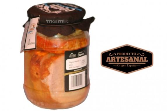 Olla de Lomo Frito en Aceite Alto Oleico Tarro 900gr Masmit