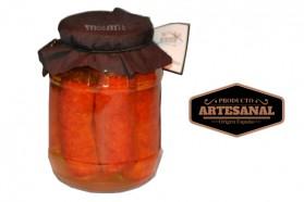 Olla de Chorizo Frito en Aceite Alto Oleico Tarro 900gr Masmit
